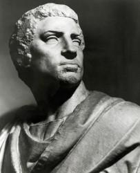 Statue Bust Of Marcus Junius Brutus