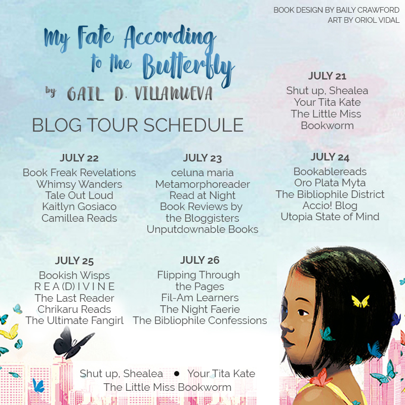 ButterflyTour Blog Tour Schedule