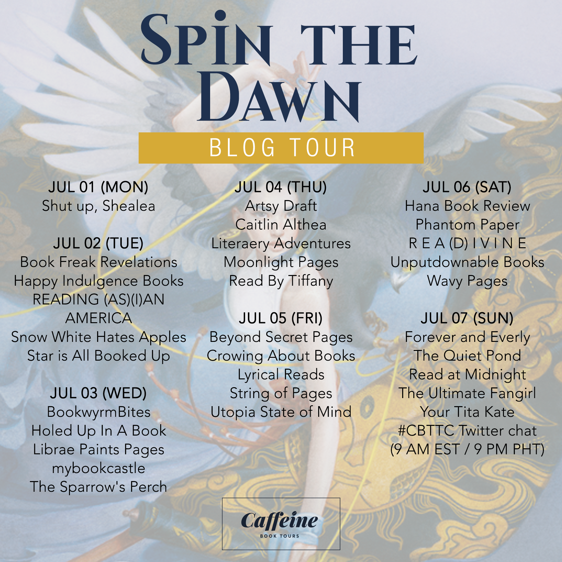Schedule (Spin the Dawn)